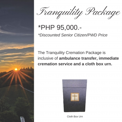 Tranquility Cremation Package