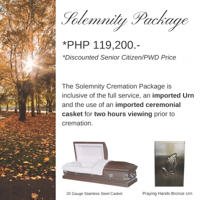 Solemnity Cremation Package