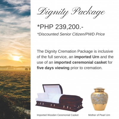Dignity Cremation Package